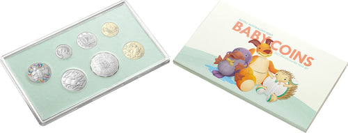 Baby Coins 2021 Uncirculated Year Set