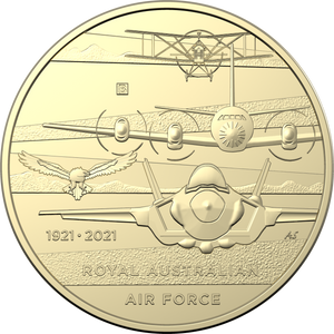 Heroes of the Sky-Centenary of the Royal Australian Air Force 2021 $1 Mintmark & Privy Mark Uncirculated Coin Set