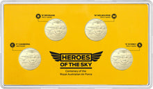 Load image into Gallery viewer, Heroes of the Sky-Centenary of the Royal Australian Air Force 2021 $1 Mintmark & Privy Mark Uncirculated Coin Set