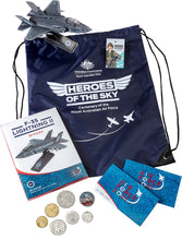 Load image into Gallery viewer, Royal Australian Air Force Zoom Bag 2021 Six Circulating Coins and Token