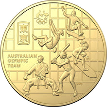 Load image into Gallery viewer, Australian Olympic Team Coin