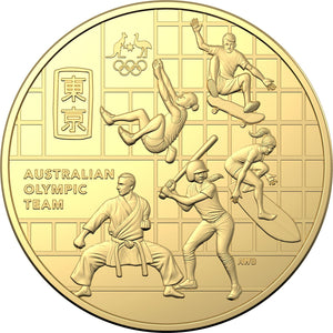 Australian Olympic Team Coin