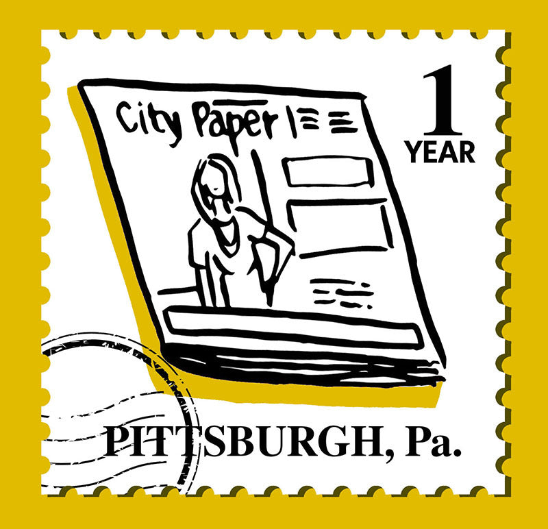 One-Year Subscription to Pittsburgh City Paper