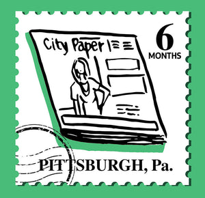 6-Month Subscription to Pittsburgh City Paper