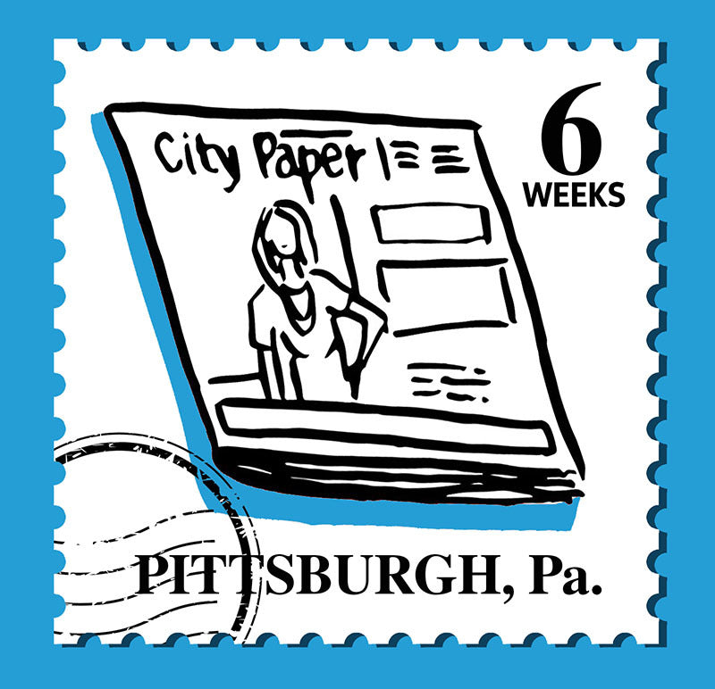 6-Week Subscription to Pittsburgh City Paper
