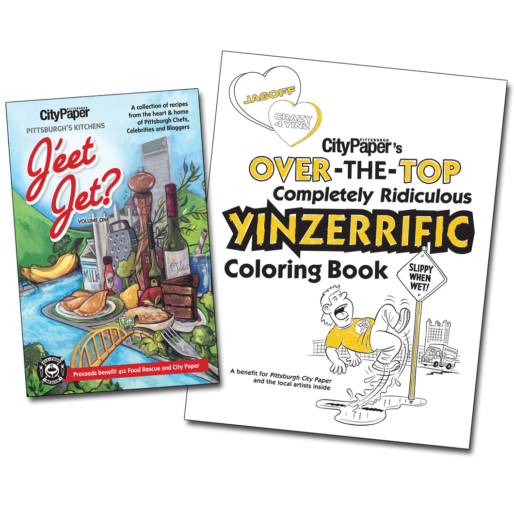 Pittsburgh City Paper Pandemic Packs:  Colorin N Cookin