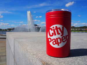 Pittsburgh City Paper Travel Mug
