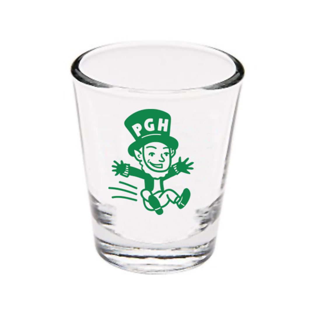 Pittsburgh-Themed St. Paddy's Day Shot Glass