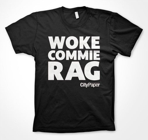 Presale, Limited Edition — Last Chance to Grab a City Paper Commie Rag T-shirt!