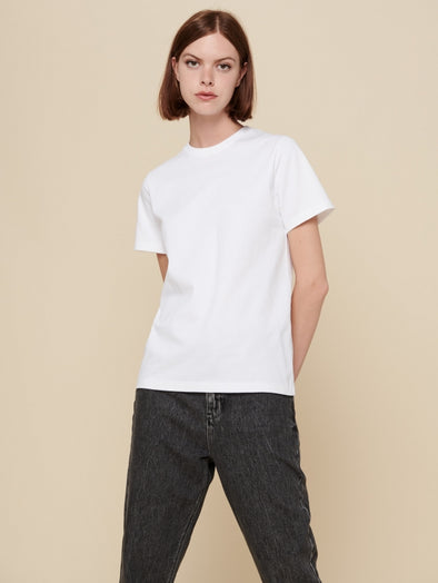 acoté Broadford Tee in White