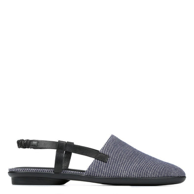 Donald Pliner Maci Denim & Leather Flat
