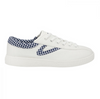 Tretorn NYLITE38PLUS in Vintage White and Navy
