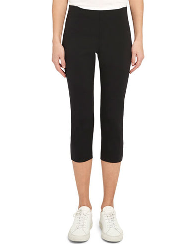 Theory Core Scuba Skinny Capri Pant in Black