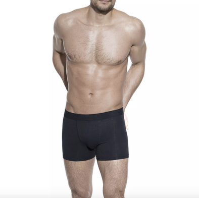 Bread & Boxers Organic Cotton Boxer Brief in Navy