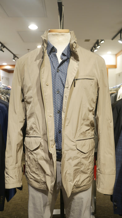 Gimo's Filed Jacket in Tan