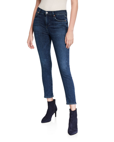 Citizens of Humanity Rocket Crop Jeans in Alto