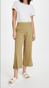 Theory Wide Leg Pull-On Pants in Sprig