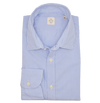 MGF Striped Button Down Dress Shirt in Blue