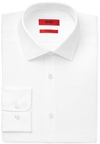 Hugo Boss Sharp Fit C-Mabel Dress Shirt in White