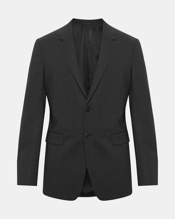 Theory Chambers Suit Separate Jacket in Charcoal