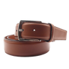 Olimpio Casual Belt in Dark Brown
