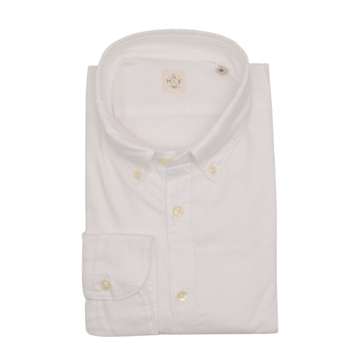 MGF Button Down Shirt in White