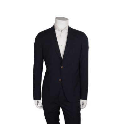 SAND Copenhagen Star Napoli Suit Separate in Navy Stripe