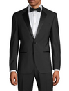 Hugo Boss Henry Tuxedo Jacket in Black