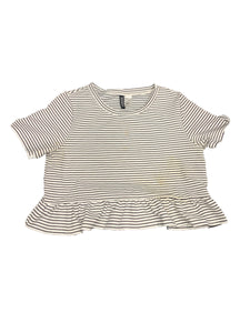 Medium Divided Womens Tops Short Sleeve
