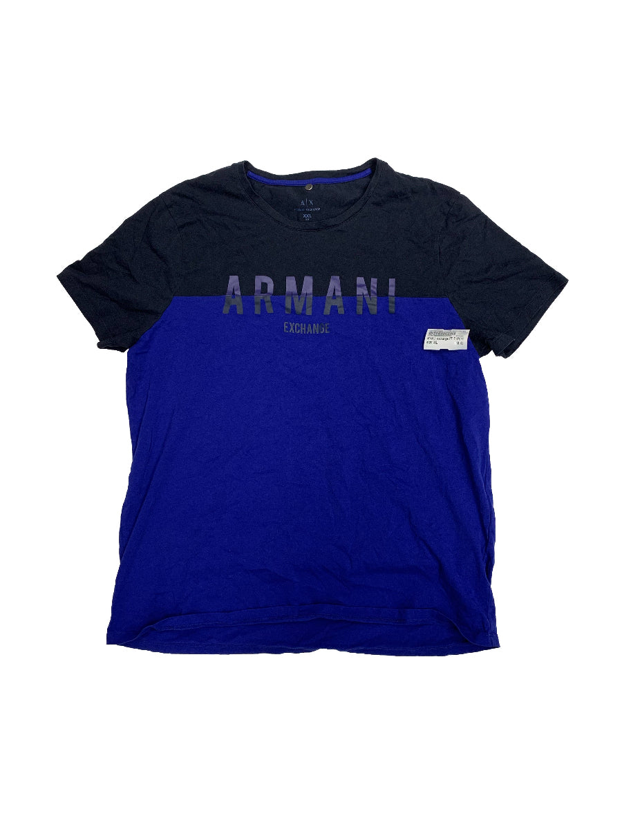 Extra Extra Large armani exchange Mens Tops T-Shirts