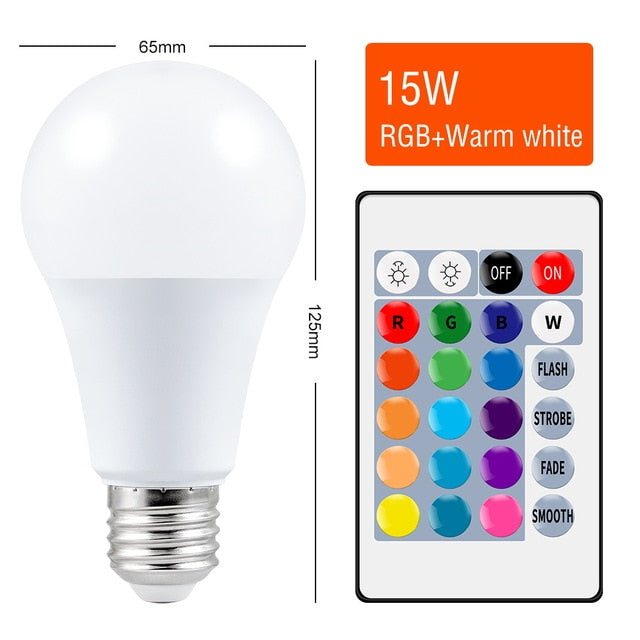 LED RGB Light Bulb