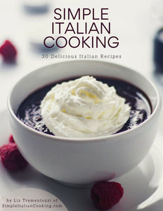 30 Italian Recipes Ebook/Cookbook