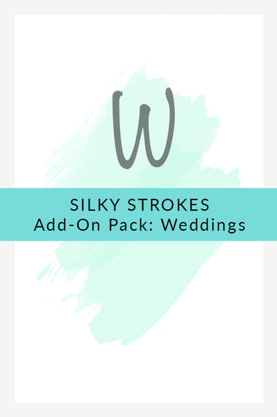 Silky Strokes: Wedding Add-on Pack (15 Brushes)