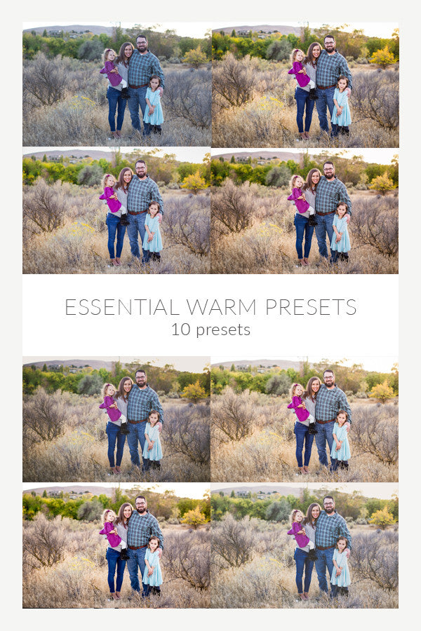 Essential Warm Presets - Set of 10