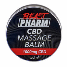 Load image into Gallery viewer, Discount Bundle! Beast Pharm CBD Massage Balm - 1000mg - Pack of 3