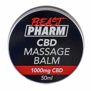 Discount Bundle! Beast Pharm CBD Massage Balm - 1000mg - Pack of 3
