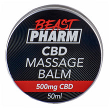 Load image into Gallery viewer, Beast Pharm CBD Massage Balm - 500mg