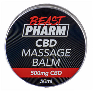Beast Pharm CBD Massage Balm - 500mg