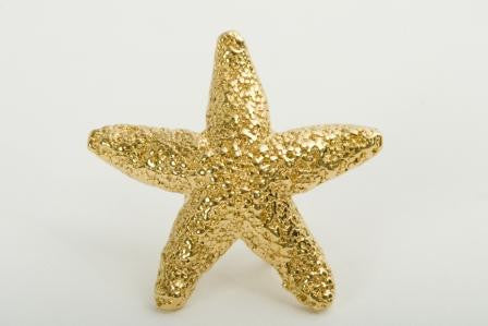 Gold Plated Starfish - 5 Year Pin
