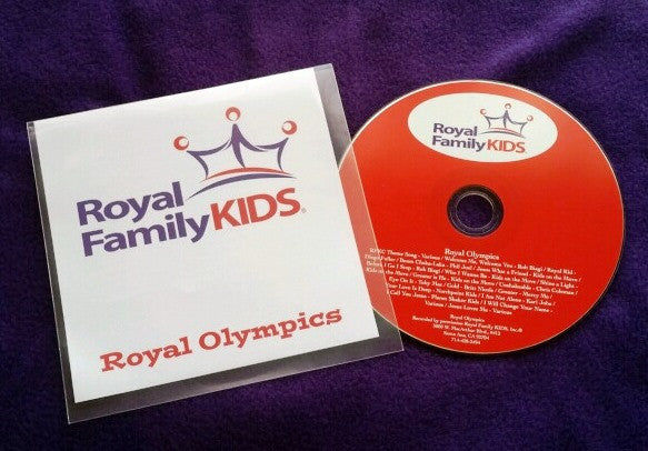 2020 - Royal Olympics Music CD