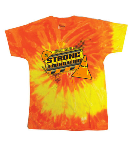 2018 Camper Yellow & Orange Tie Dye T-Shirt