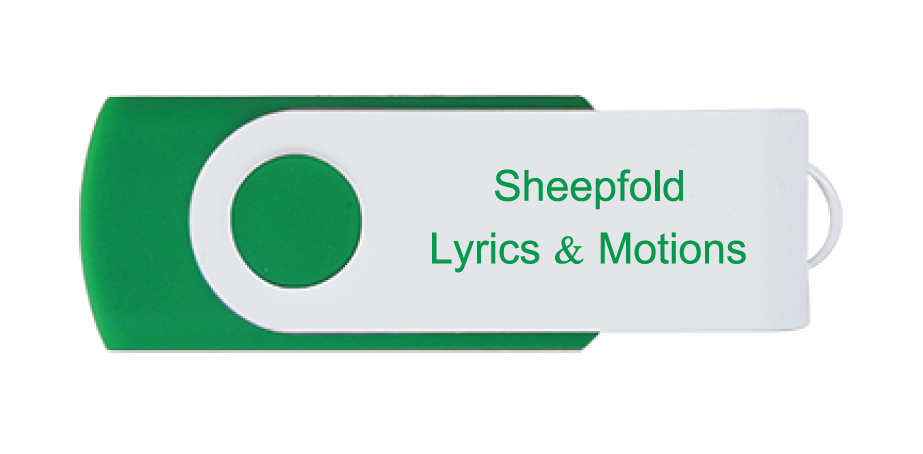 CUR - The Sheepfold Music & Motion Video Package Thumb Drive