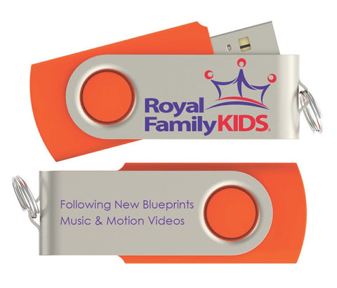 CUR - Following New Blueprints Music & Motion Video Package Thumb Drive