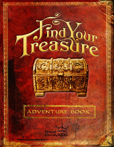 CK - Find Your Treasure Adventure Books