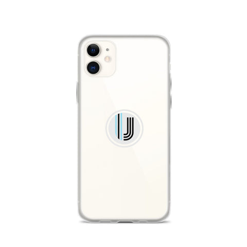 White UVC logo iPhone Case