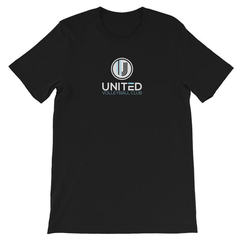 Black S/S Centered UVC Logo Tee