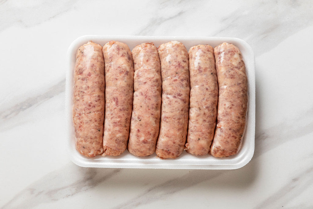 Dom's Cheese and Garlic Sausage (1.25 lbs)