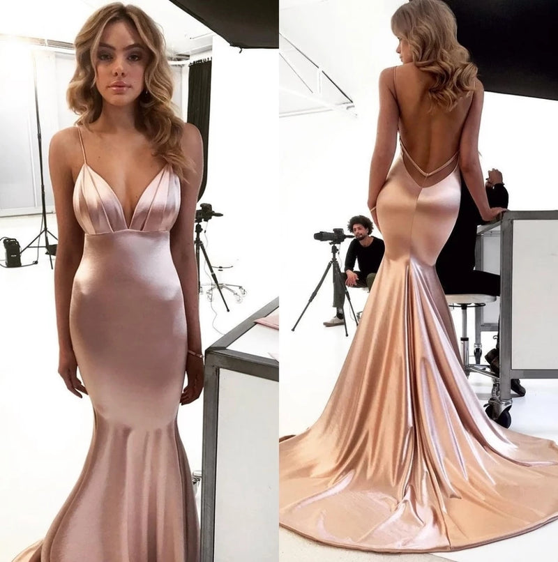 Satin Formal Gown