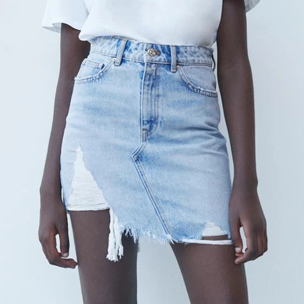 Goddess Denim Skirts