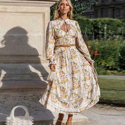 Celine 2PC Boho Dress